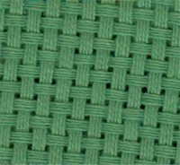 Monks Cloth - 7ct - Grass Green