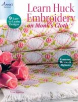 Learn Huck Embroidery on Monk's Cloth (Swedish weaving)