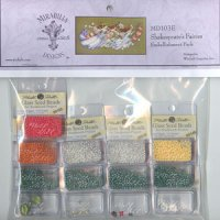 Shakespeare's Fairies Embellishment Pack-MD103E