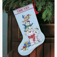 Stack of Critters Stocking-70-08840