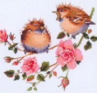 Rose Chick-Chat by Valerie Pfeiffer - Harmony