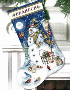 Snowman & Friends Stocking Kit