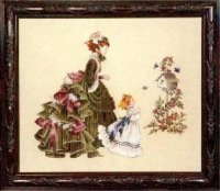 Little Wings, victorian lady and child (LL4)