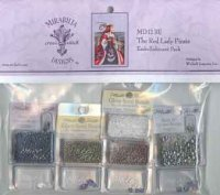 The Red Pirate Lady Embellishment Pack-md13e