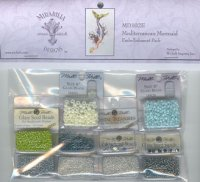 Mediterranean Mermaid Embellishment Pack