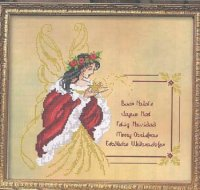 Fairy Christmas Greetings (RL31), lady