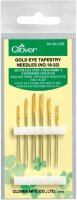 Gold Eye Tapestry Needles-Size 18/22 6/Pkg