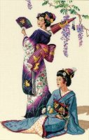 "Jewels Of The Orient (KIT)-11""X17"" 18 Count"