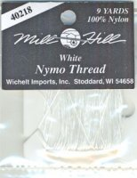 Nymo Thread, white