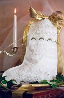 Crystal Hardanger Stocking II - (01-2056)