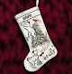 Britty Puppy Christmas Stocking