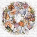 07-2683-Seashell Wreath