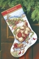 Santa's Journey Stocking (Gold)-08752