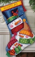 Freezin' Season Stocking-9139