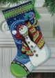 Happy Snowman Stocking Kit (09143)