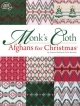 Afghans For Christmas (Monk'sCloth), Huck Embroidery