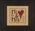 Wee One: Mr & Mrs, anniversary/ wedding