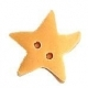 Golden Star Button (3314.M)