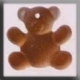 12120 - Teddy Bear Brown 12mm - 1 per pkg
