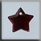 12172 - Small Flat Star Red Bright 9mm - 1 per pkg