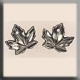 12199 - Maple Leaf Matte Metallic 9/8mm - 2 per pkg