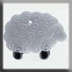 12216 - Wooly Sheep 17/12mm - 1 per pkg