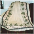 Forest Blanket (Swedish/huck weaving)