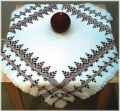 Scandinavian Table Cloth (Swedish/huck weaving)