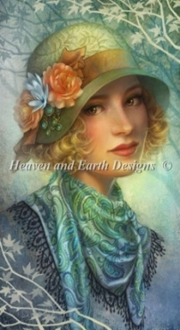 Evergreen, 1920's lady Heaven and Earth