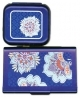 Needle & Scissors Case Duo - Blue Floral