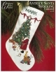 Antique Santa Stocking