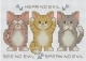 No Evils Cats Kit-PINN38-N