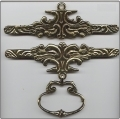 200116 - Brass - Antique Finish 16cm (6-1/4in)
