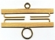 34311 - Brass - Satin Finish 11cm (4-3/8in)