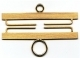 34314 - Brass - Satin Finish 14cm (5-1/2in)