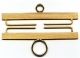 3438 - Brass - Satin Finish 8cm (3-1/8in)