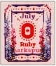 Ruby & Larkspur - July