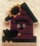 43020 - Birdhouse with Crow - 1in x 1in