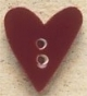43069 - Flower Garden Heart - 5/8in x 3/4in