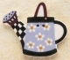 43147 - Blue Daisy Watering Can - 1 3/8in x 1 1/8in