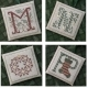 MNOP - Alphabet Ornaments Four - DR235