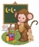 Monkey Baby Goes To School - (EMB005)