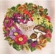 Autumn Wreath - (EMS125)