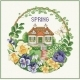 Cottage In Spring - (EMS133)