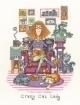 Crazy Cat Lady Cats Rule by Peter Underhill