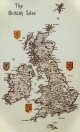 HC128 - Map Of British Isles by Susan Ryder - Britain In Stitche