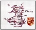 HC130 - Map Of Wales by Susan Ryder - Britain In Stitches