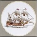 Mayflower - Ships by Dave Shaw - Heritage Stitchcraft #HCK262