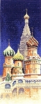 HC581 - St Basil's Cathedral by John Clayton - International