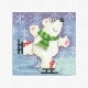Polar Bear Christmas Cards by Karen Carter